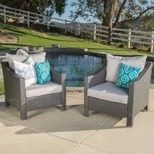 Turquoise Patio Furniture Outdoor Club Chairs You U0027ll Love Wayfair