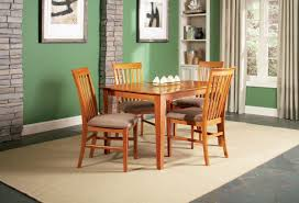 shaker dining table handmade shaker bowshaped dining table