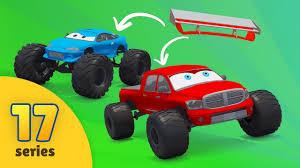 monster trucks racing good vs evil pickup trucks vs monster trucks monster trucks