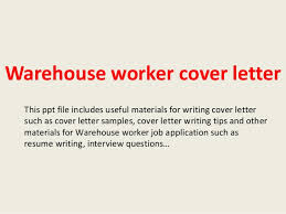 Warehouse Sample Resume by Warehouse Job Cover Letter Examples Ammu420 Tk