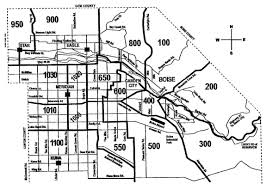 Map Of Boise Idaho Boise Area Real Estate Imls Area Map