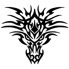 ferrari horse tattoo download black tattoo dragon png images hq png image freepngimg