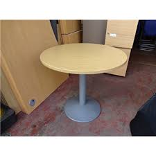 used round office table second hand 800mm round office table light oak used office tables