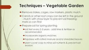 garden clean up debbie d dillion extension agent horticulture