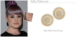 osbourne earrings osbourne and graziela gems baby yellow pizza earrings