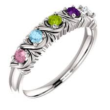 6 mothers ring uniquely detailed 6 mothers ring