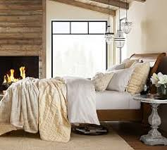 Cream Colored Comforter Neutral Bedding Pottery Barn