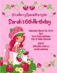 printable birthday invitations strawberry shortcake download now strawberry shortcake personalized birthday invitations