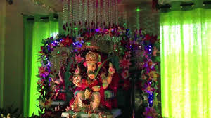 home decoration of ganesh festival decorations architecture architecture competition home