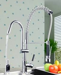 Kitchen Faucets Pull Out Kitchen Impeccable Chrome Kitchen Faucet Pull Out To Perfect Your