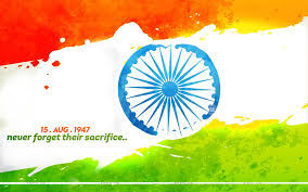 Indian Flag Cake Indian Independence Day Animated Wallpaper Free Download Clip