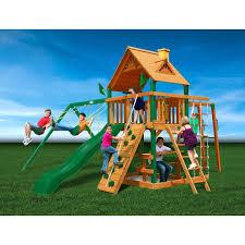 Backyard Discovery Montpelier Cedar Swing Set Wooden Wheels For Toys Supplier Swing N Slide Jamboree Fort Swing