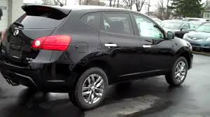 black nissan rogue 2015 rogue krom awd video wicked black 2010 nissan nissan rogue krom
