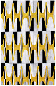 Modern Yellow Rug Rugs Curtains Elegantblack Yellow And White Area Rug For Modern