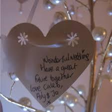 wedding wish tags the gold wish tree