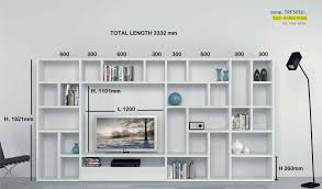 wall library modern italian tv unit library poral by mobilstella l 333 2 h