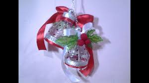 best out of waste plastic bottles lovely christmas bells youtube