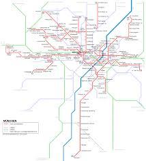 Munich Germany Map by Urbanrail Net U003e Europe U003e Germany U003e Bavaria U003e Munich Tram