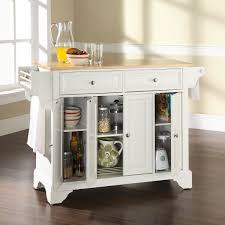 kitchen island with wood top darby home co abbate kitchen island with wood top reviews wayfair