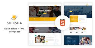 education templates from themeforest