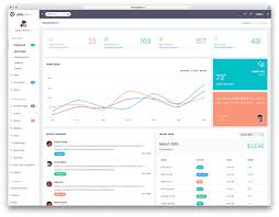 20 best bootstrap admin templates for web apps 2017 colorlib