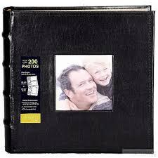 photo album for 5x7 prints celebrations black bonded leather album for your 4x6 or 5x7 prints