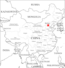 map with labels china outline map with labels mapsof