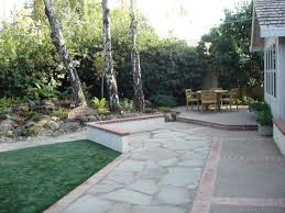Stones For Patio Cleanly Concrete Or Pavers For Patio On Interlocking Outdoor