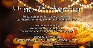 Pics Of Happy Thanksgiving Happy Thanksgiving Med Spa