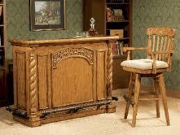 Oak Bar Cabinet Woodland Oak Bar Cabinet And 2 Bar Stools Set Betterimprovement Com