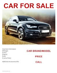 car for sale template rapidimg org