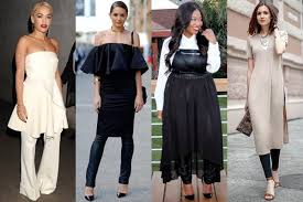 how to style dress over pants fashion trend