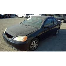 2003 honda civic ex parts used 2003 honda civic ex parts car black with black interior 4