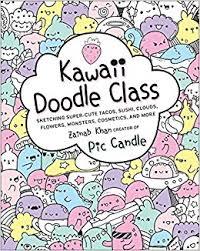 kawaii doodle class sketching super cute tacos sushi clouds