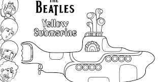 beatles yellow submarine coloring pages gekimoe u2022 54355