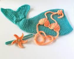 Baby Mermaid Halloween Costume Mermaid Blanket Crochet Mermaid Tail Mermaid