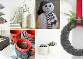 diy sweater diy sweater ideas to winter decor for your home