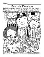 kwanzaa theme unit word searches crosswords and reading