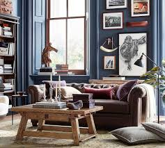 Living Room Accent Table Grant Accent Table Pottery Barn