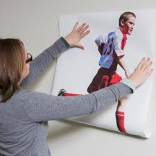 life size wall stickers make your own wall decal cutout wall sticker installation player photo sticker