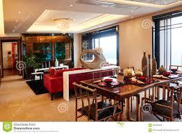 Luxury Livingroom Modern Luxury Living Room Dining Room Editorial Stock Image