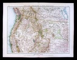 map of oregon nevada 1900 times map california oregon colorado wyoming montana nevada