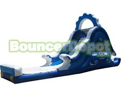 blow up water slides for adults 18 feet ocean theme inflatable