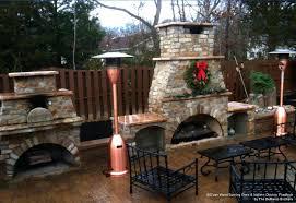 deckmate copper outdoor fireplace gas powered kitchen ideas deck