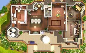 sims 3 mansion floor plans house plan mod the sims alcester house modern mock tudor 3 sims