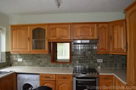 Easy Kitchen Cabinet Makeover Quick And Easy Kitchen Makeover Diy Painted Cabinets From