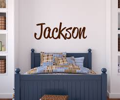Wall Decals For Boys Room Custom Boy Name Wall Decal Baby Boy Nursery Wall Decor