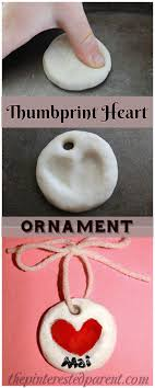 clay fingerprint keepsake ornaments the pinterested parent