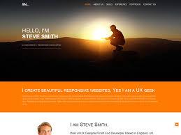 personal portfolio template 23 free personal vcard u0026 resume html templates templatemag