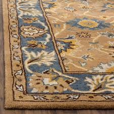 Safavieh Heritage Rug Safavieh Heritage Collection Camel And Blue Area Rug 5x8